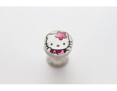 Hello Kitty - virágos