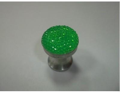 Gumicukor - lime zöld