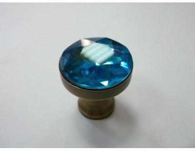 Üveg Crystal - türkiz kék