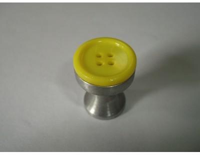 Gomb - citrom sárga