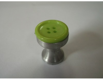 Gomb - lime zöld